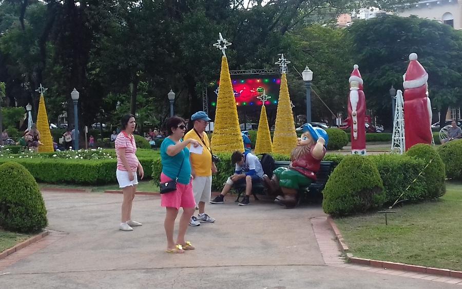 Turistas aprovaram a prorrogação da decoração