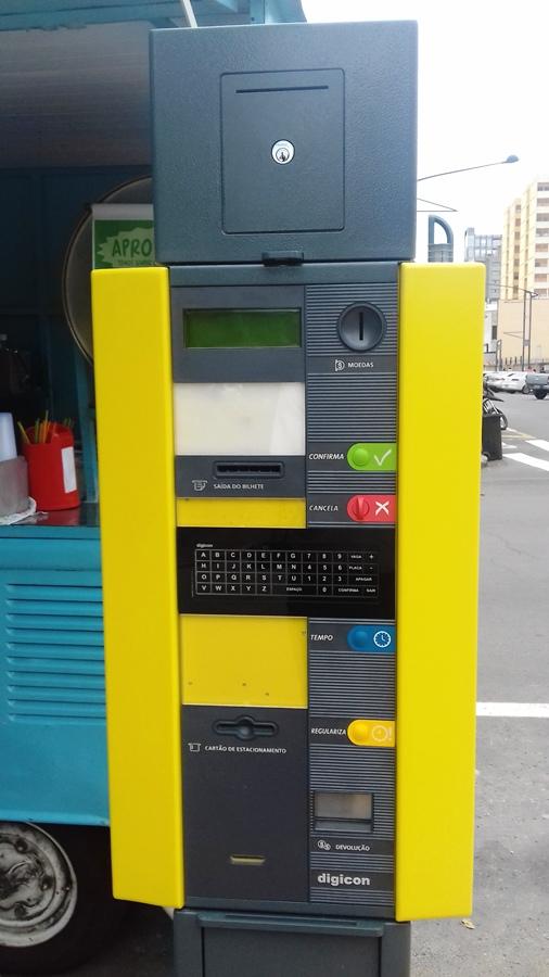 De início o equipamento vai operar com moedas e cartão pré-pago