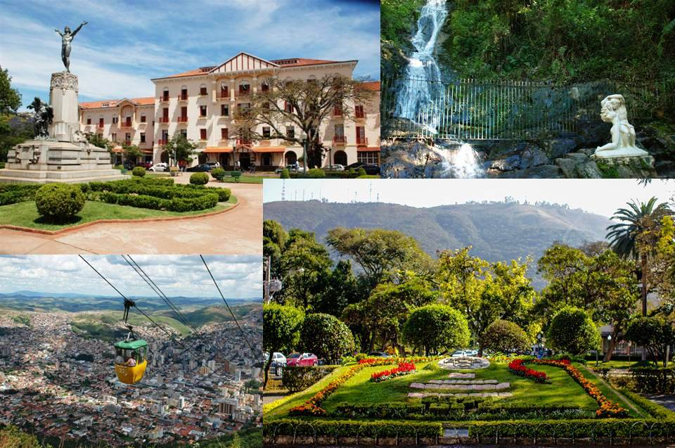 Poços de Caldas está inserida entre os 45 circuitos turísticos de Minas Gerais