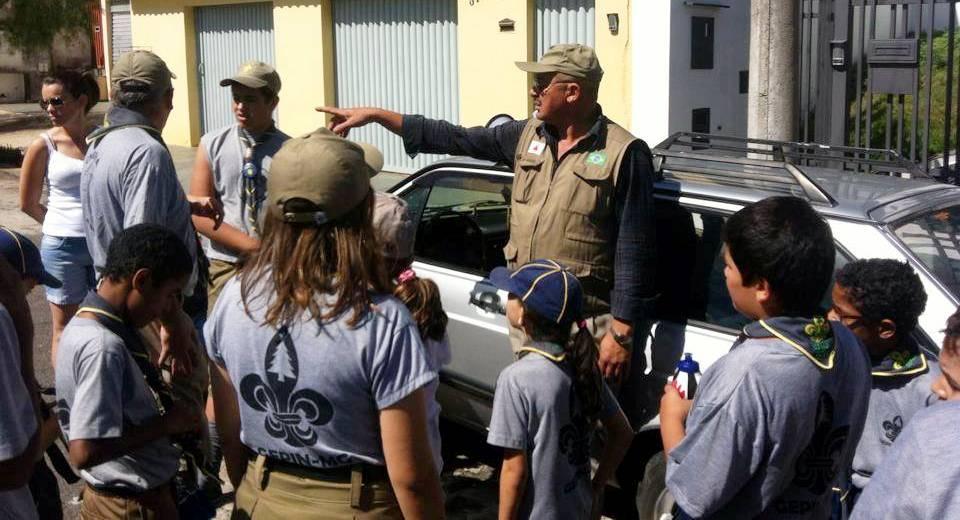 Escoteiros vão ajudar na ação voluntária - foto arquivo