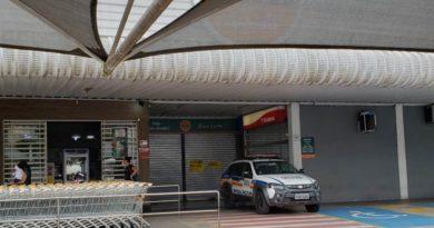 Supermercado é furtado na zona leste
